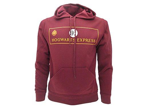 Sudadera con Capucha Hoodie Plataforma 9 3/4 Hogwarts Express de Harry Potter - 100% Oficial Warner Bros (XL Extra Large)