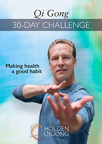Qi Gong 30-Day Challenge with Lee Holden DVD (YMAA 2020) **NEW QIGONG DVD BESTSELLER** Perfect for Beginners