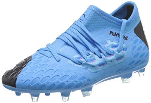 Puma Unisex-Kinder Future 5.3 Netfit Fg/ag Jr Botas de fútbol, Blau (Luminous Blue-NRGY Blue Black-Pink Alert), 36 EU