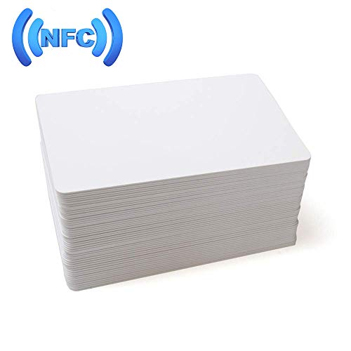 MIFARE Classic 1K RFID Smart Cards 13.56MHz ISO14443A Blank RFID Hotel Key Cards Printable (no mag Stripe) (500)