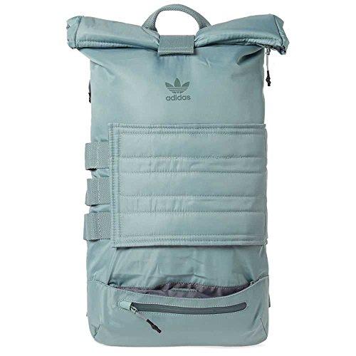 adidas Originals Womens Roll Up Trefoil Backpack Blue