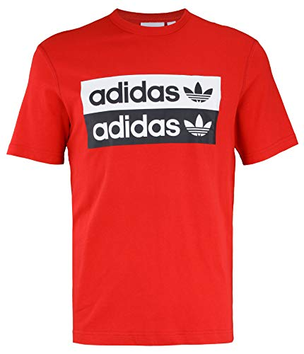 adidas Mens D-R.Y.V. TEE Size M Red