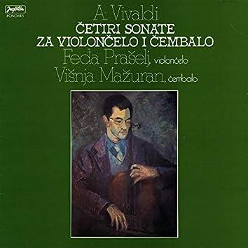 A. Vivaldi: Četiri Sonate Za Violončelo I Čembalo