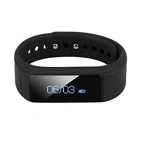 Arvin - Pulsera Deportiva Podometro Desmontable Bluetooth 4 0, Reloj Inteligente Para Seguimiento de Actividad, Recordatorio, Control de Salud, Fitness, Para TelÉFonos Android, Ios