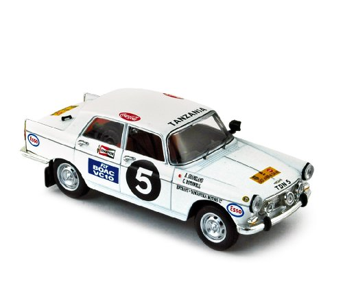 Norev - 474423 - Véhicule Miniature - Peugeot 404 N°5 – East African Safari 1967 - Echelle - 1/43e