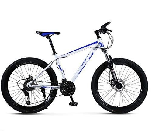 Vélo de montagne, frein à disque, absorption des chocs, 30 vitesses, freins à disque 26 pouces, vélo à neige, pour l'environnement urbain et trajets vers et depuis le travail