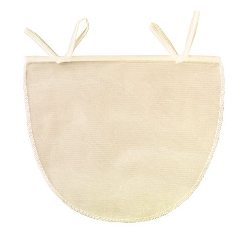 Beyond Gourmet Unbleached Nut Milk Bag, 11-Inches x 9-Inches
