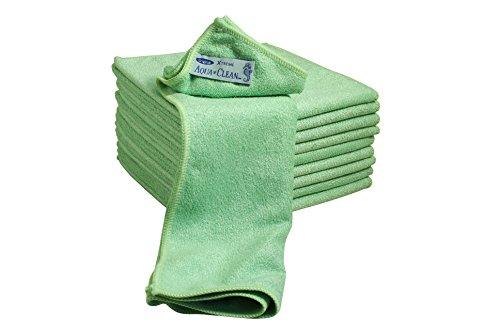 Aqua CLEAN Microfaser X-Treme Tücher 10er Set (grün)