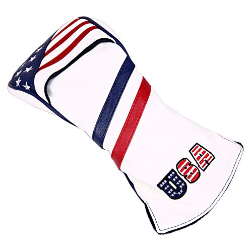 USA Stars and Stripe Golf Club Wood Cover for 460cc Driver Head Covers Golf Builder