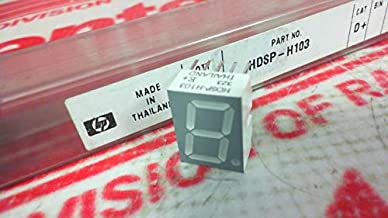 AVAGO TECHNOLOGIES US INC HDSP-H103-DE000 Price/EA (MIN PURCH= 640) - Display, Seven Segment, 14.2MM, RED; NO. of Digits/Alpha:1; Character Size:14.2MM; LED Color:RED; Common Connection:COMM