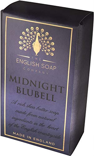 The English Soap Company, Pure Indulgence Midnight Blubell, Shea Butter Soap, 200g