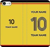 iPhone/Xperia/Galaxy/他機種選択可:好きな番号/名前/チーム名をカスタム/サッカー手帳ケース(品番:JP_10) 07 iPhone8