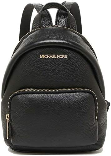 Michael Kors 35T0GERB5L Gold Hardware Erin Small Convertible Women s Backpack Black product image