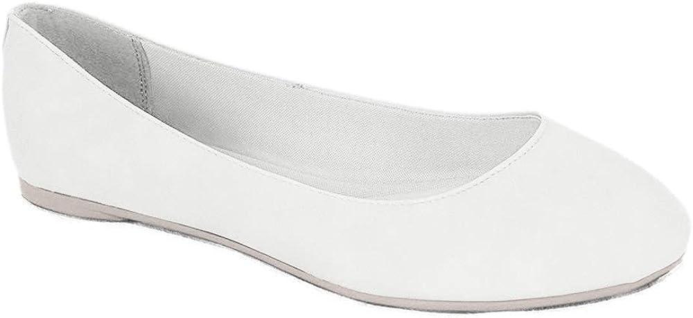 Soda Kreme Comfortable Basic Shoes Women Ballet Flat Round Toe Gel Insole