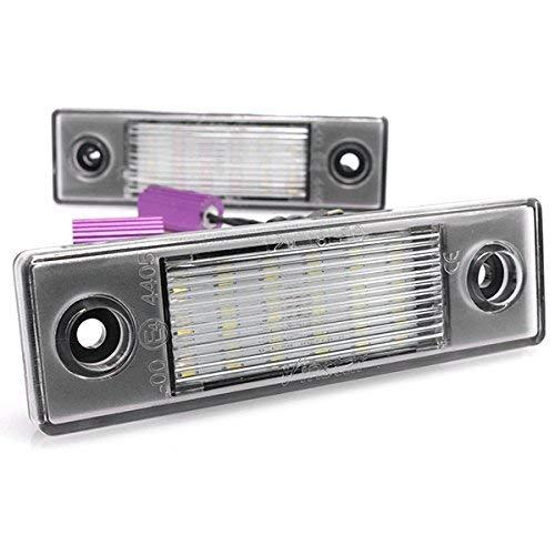 Éclairage de plaque d'immatriculation à LED - Module CAN Bus - Avec certification ECE - V-032201