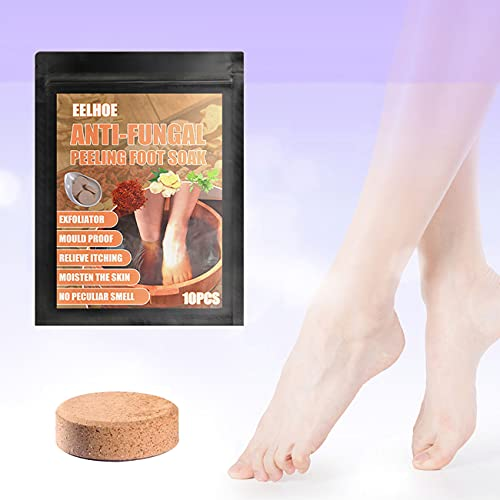 10pcs set Foot Soaking Tablets, Foot Soak Chinese Herbal Foot Bath Spa Boost Immunity, Natural Chinese Medicine Foot Bath Health Care Tool Improve Sleeping (one)
