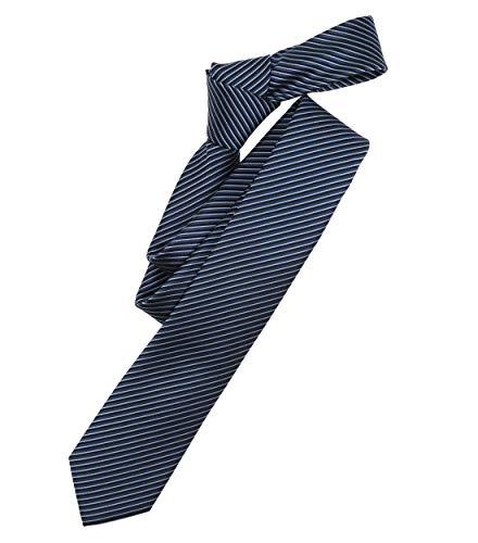 Venti Herren Krawatte gestreift mittleres Dunkelblau Einheitsgröße