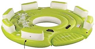 Sevylor Party Dock 8 Person Inflatable Island Seat Tube Biscuit