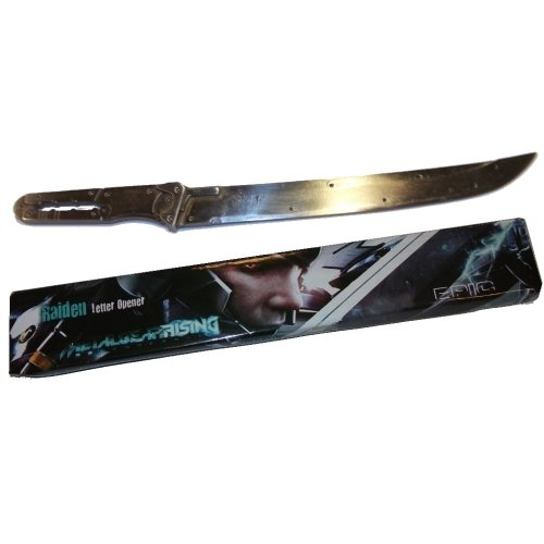 Metal Gear Rising Raiden Mini Sword Letter Opener
