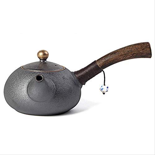 200mlteapots Keramisch Hout Handvat Kung Fu Thee Porselein Keramische Ketel Vintage Thee Service