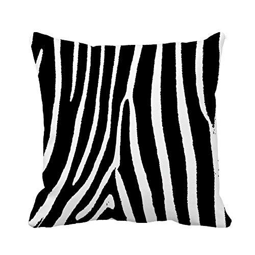 N\A Throw Pillow Cover Animal Pattern Skin Fur Zebra XXL en Disponible Mi Funda de Almohada Funda de Almohada Cuadrada Decorativa para el hogar Funda de cojín