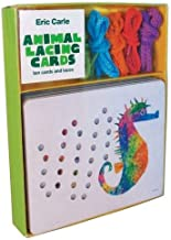 Eric Carle Animal Lacing Cards: 10 Cards & Laces
