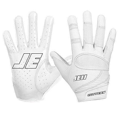 Cutters Gloves JE11 Signature Series Football Handschuhe - weiß Gr. L