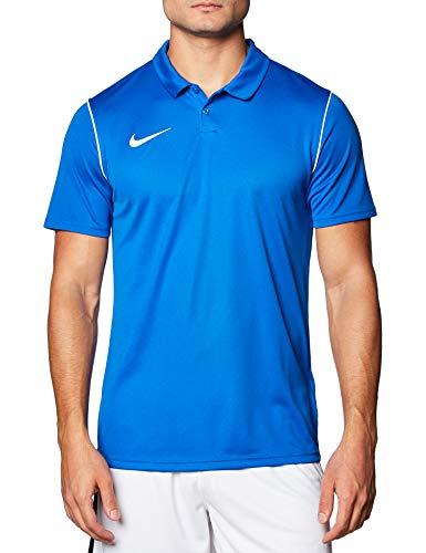 Nike Park 20 Chemise Polo Homme, Royal Bleu/Blanc/Blanc, L