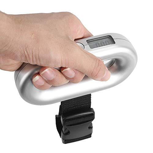 Bagageweegschaal, 40kg/88lb draagbare digitale LCD-tarrafunctie Bagagebagageweegschaal Weger voor reiziger, bagageweegschaal