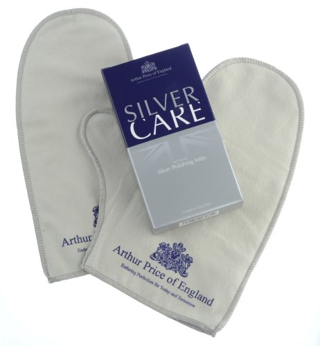 Arthur Price Easy Care Pair of Polishing Mitts