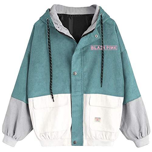 BESTHOO Blackpink Pullover Ocasionales Adelgazan la Camiseta for Mujer Ligero suéter for...