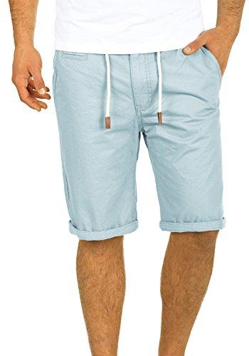 Blend Kaito Herren Chino Shorts Bermuda Kurze Hose Mit Kordel Aus 100{7fca885efb020f7d3ba60a8e5b15e8598559e60b9091ce880aa96a964914107e} Baumwolle Regular Fit, Größe:XL, Farbe:Soft Blue (74641)
