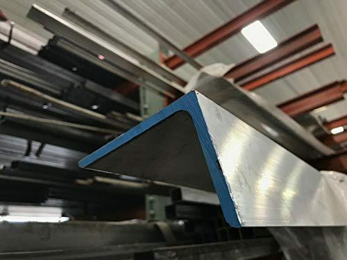 "6061 T651 Aluminum Angle 3""X 5""X 12"" Long 1/4"" Thick"