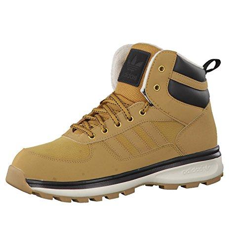 adidas , Herren Sneaker 45 Braun / Schwarz / Weiß
