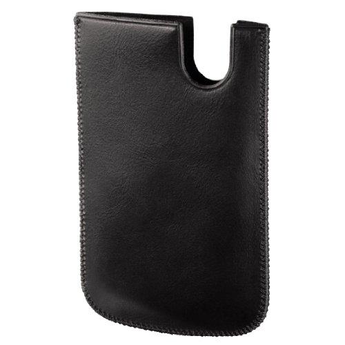 Hama 00118769Schutzhülle schwarz Tasche für Handy-Hüllen für Mobiltelefone (Schutzhülle, Apple, iPhone 5, Schwarz)