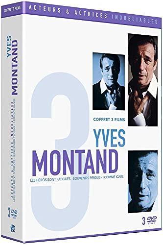Inoubliable Yves Montand-Coffret : I comme Icare + Souvenirs perdus + Les Héros sont fatigués