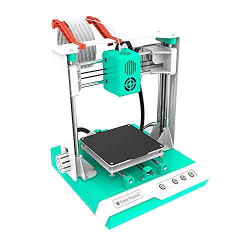 Impresora 3D Vobor Edificio para niños - K1 Plus Desktop Mini Kit de impresora 3D Tamaño de impresión 100X100X100mm para educación en el hogar(Normativa europea)