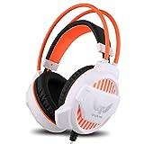 yaunli Auriculares de Juego con Cable con el micrófono de l