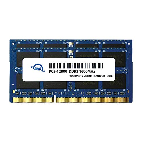 OWC 8GB (2x4GB) PC3-12800 DDR3L 1600MHz SO-DIMM 204 Pin CL11