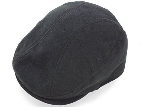 [ニューヨークハット]NEW YORK HAT ハンチング ウールメルトン 1900 ブラック S-M