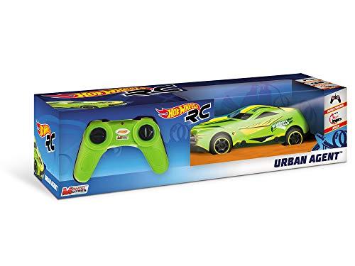 Hot Wheels - Mondo Motors - voiture de course radiocommandée - Urban Agent - 18cm - jouet enfant - 3 ans et plus - 63254