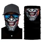 Bumplebee Skull Bandana Face Shield Motorrad Halstuch Multifunktionstuch Kopftuch Schlauchtuch Hals...