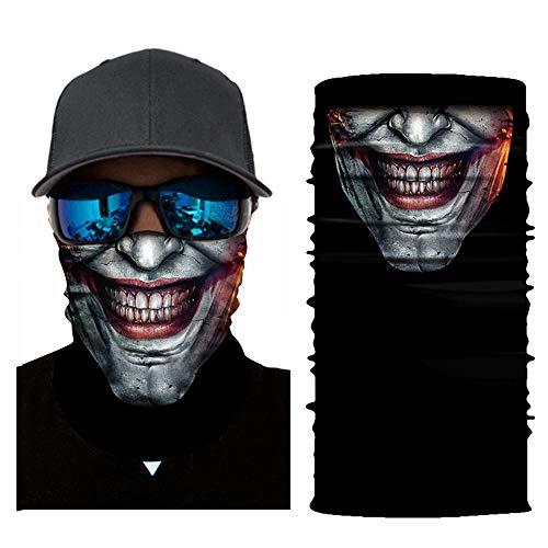 Bumplebee Skull Bandana Face Shield Motorrad Halstuch Multifunktionstuch Kopftuch Schlauchtuch Hals Ski Schal Radfahren Sturmhaube Laufen, Angeln, Walken, Sport etc