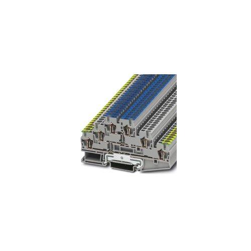 Phoenix ST 2.5-PE/L/N Blau, Grau, Gelb - Anschlussblöcke (5,2 mm, 99,5 mm, 500 V)