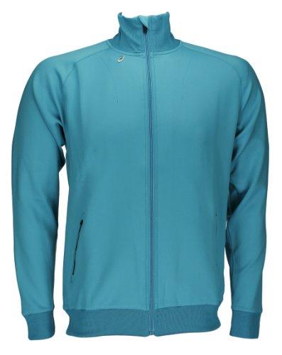 ASICS running fitness chaqueta para hombre Soukai Track 0820 Art, 428401, todo el año, color  - turquesa, tamaño L