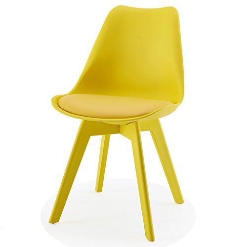 CJH Nordic Leisure Plastic Eetstoel Moderne Minimalistische Creatieve Eames Stoel Kleur Bureau Stoel Tafel en Stoel