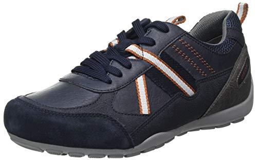 Geox U RAVEX A, Zapatillas Hombre, Azul Marino, 43 EU