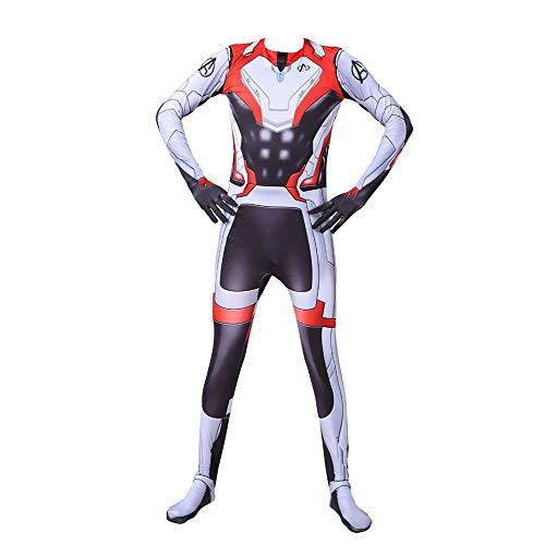 YXIAOL Rächer, Quantenkrieger Kostüme, Superhelden Kostüme, Halloween Karnevalskostüme, Film Cosplay Party Kostüme, Erwachsene/Kinder,Child-XS
