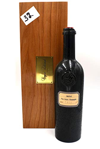 Rarität: Lheraud Cognac Jahrgang 1932 Fine Petite Champagne 0,7l + Holzkiste u. Zertifikat