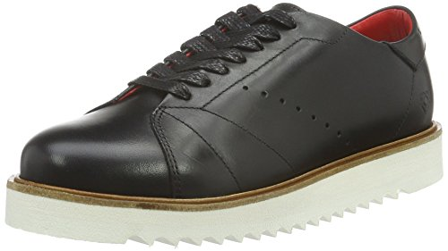 Liebeskind Berlin Damen LS0114-calf Sneaker, Ninja Black, 37 EU